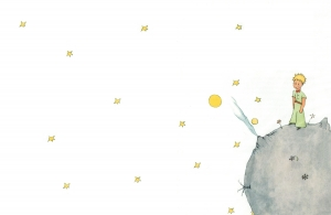 Petit prince cover blanche
